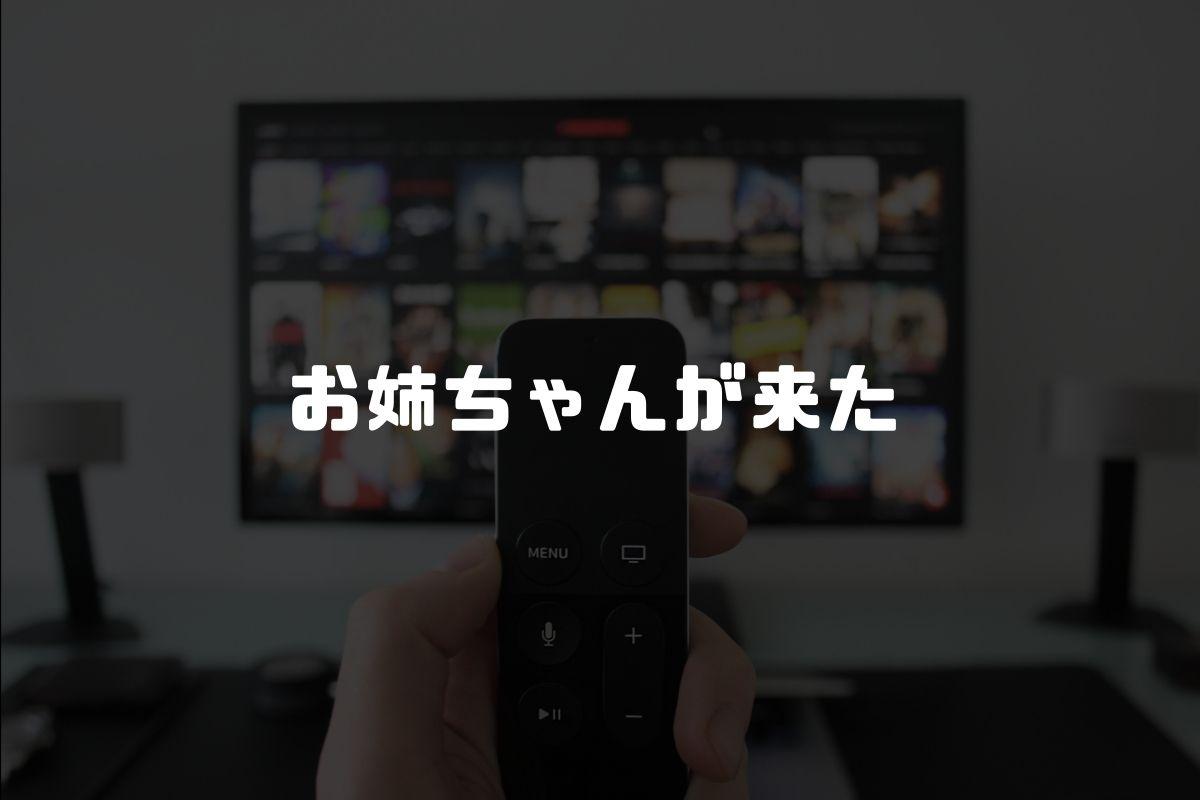 アニメ お姉ちゃんが来た 続編