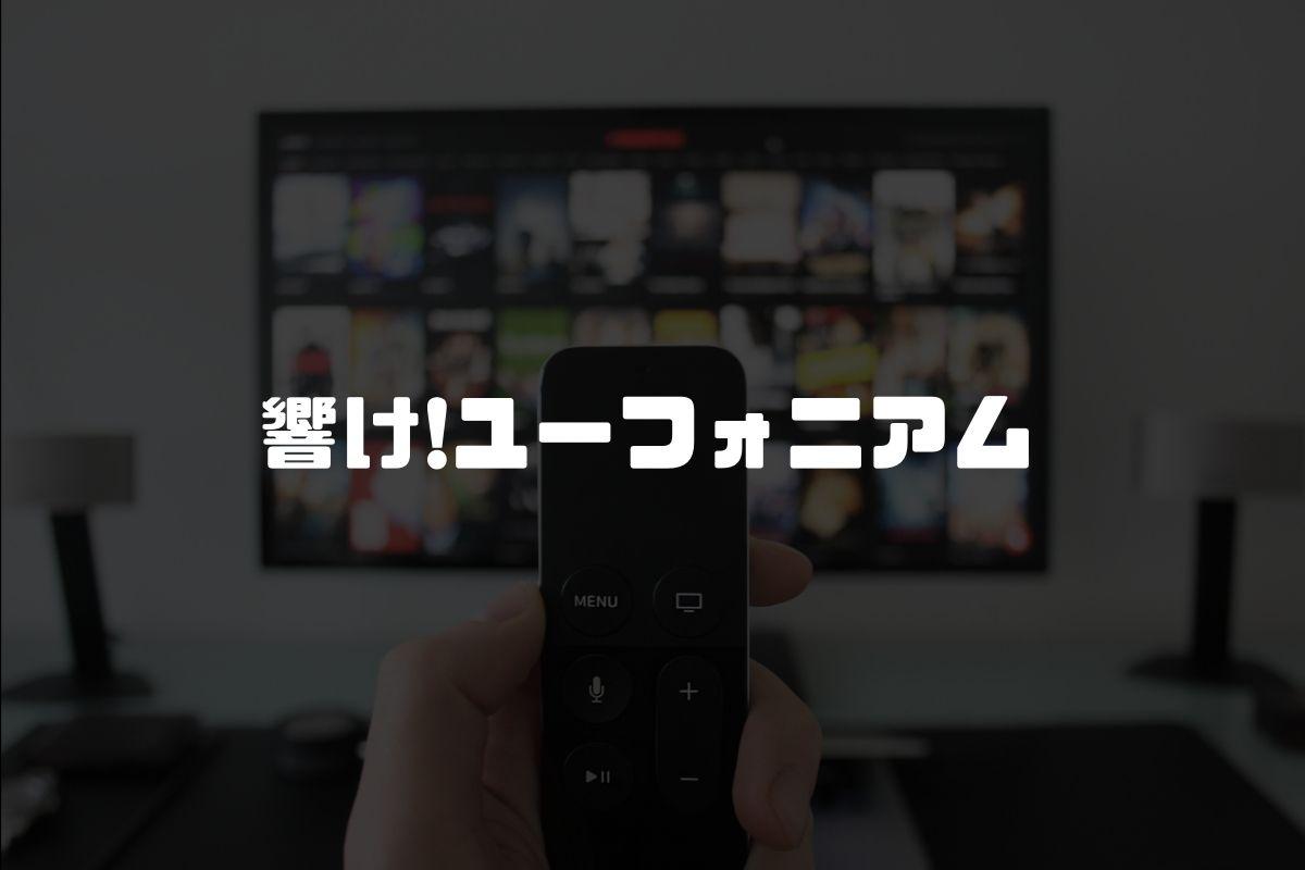 アニメ 響け!ユーフォニアム 続編