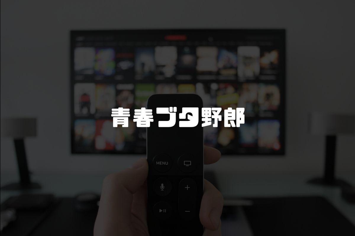 アニメ 青ブタ 続編